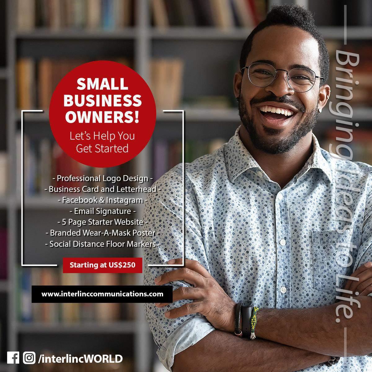 Creative Starter Small Business Design Solutions - Website, Logo & Branding, Business Cards, Website and more