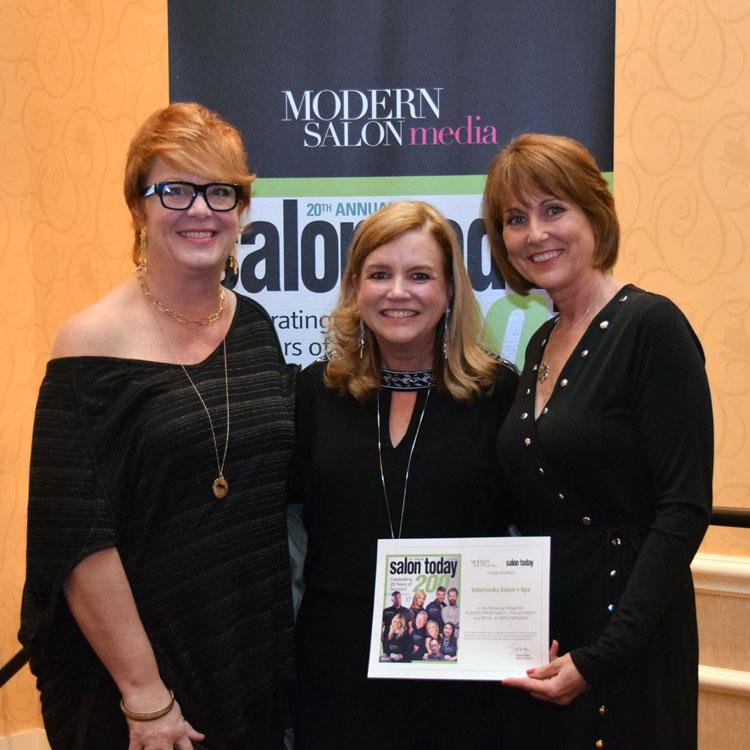 2017 Salon Today awards to INTERLOCKS Salon + Spa