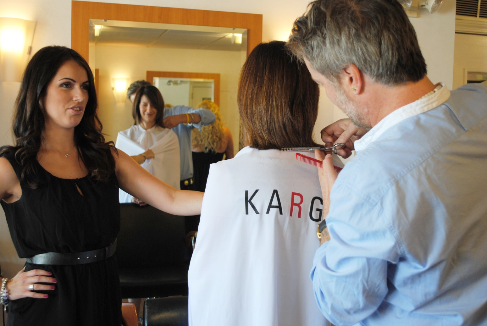 KARG DryHairCut Education at Interlocks - April 2011