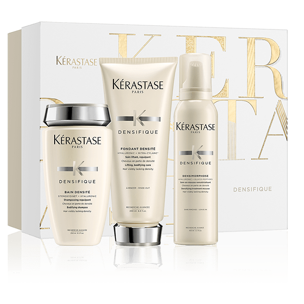 Kerastase holiday products at INTERLOCKS