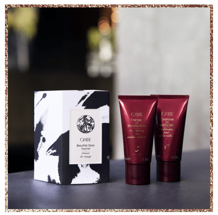Oribe holiday products at INTERLOCKS