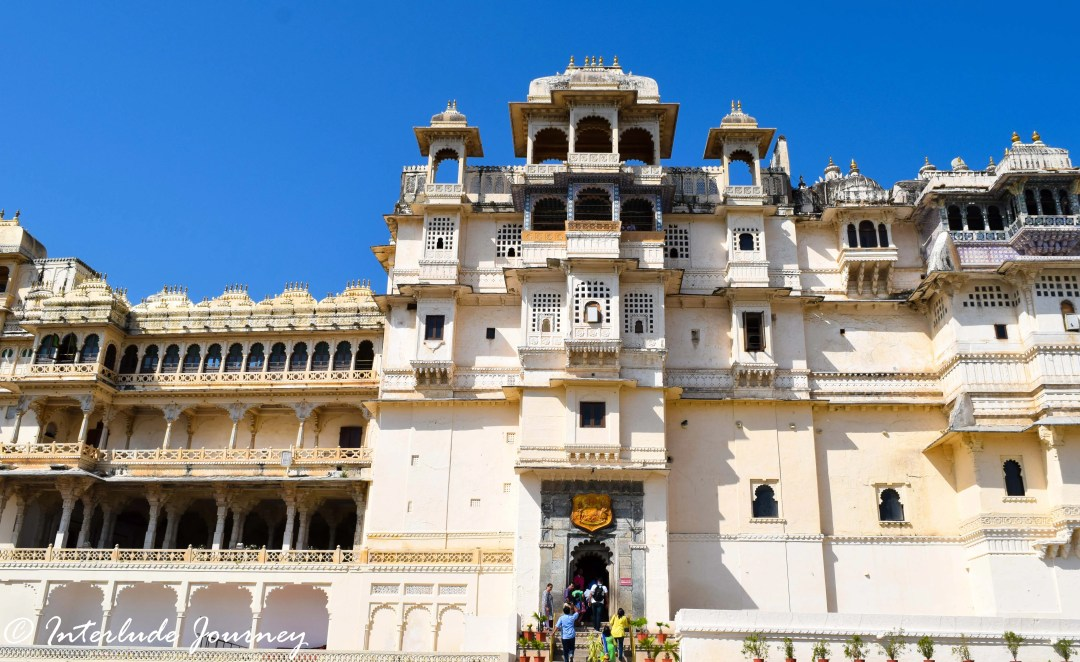 Main Entrance to Museum in the Udaipur City Palace