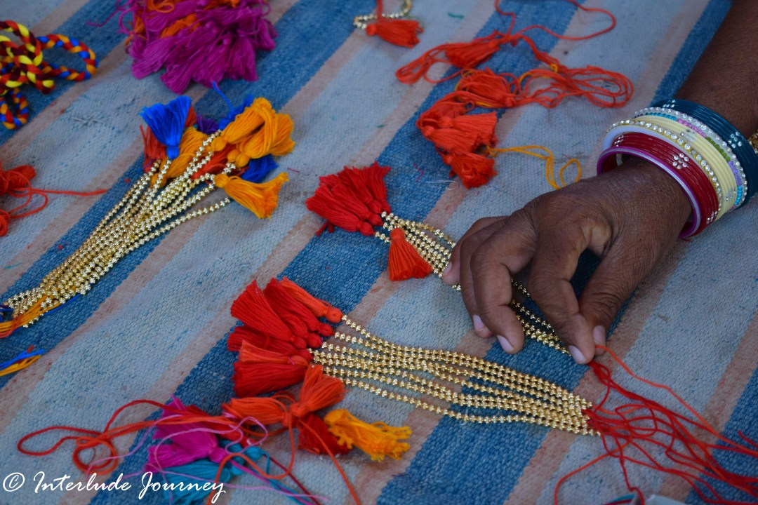 Tassels made at Sunder rang