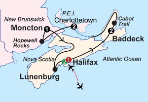canadian maritimes guided vacation
