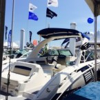 InterMarine's display featuring a Chaparral 284 Xtreme.