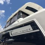 2015 Jeanneau Merry Fisher port side hull view