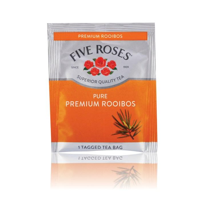 INTERMARKET BEVERAGES TEA 5 ROSES ROOIBOS