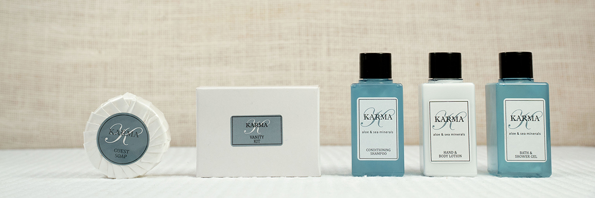 KARMA COLLECTION GUEST AMENITIES