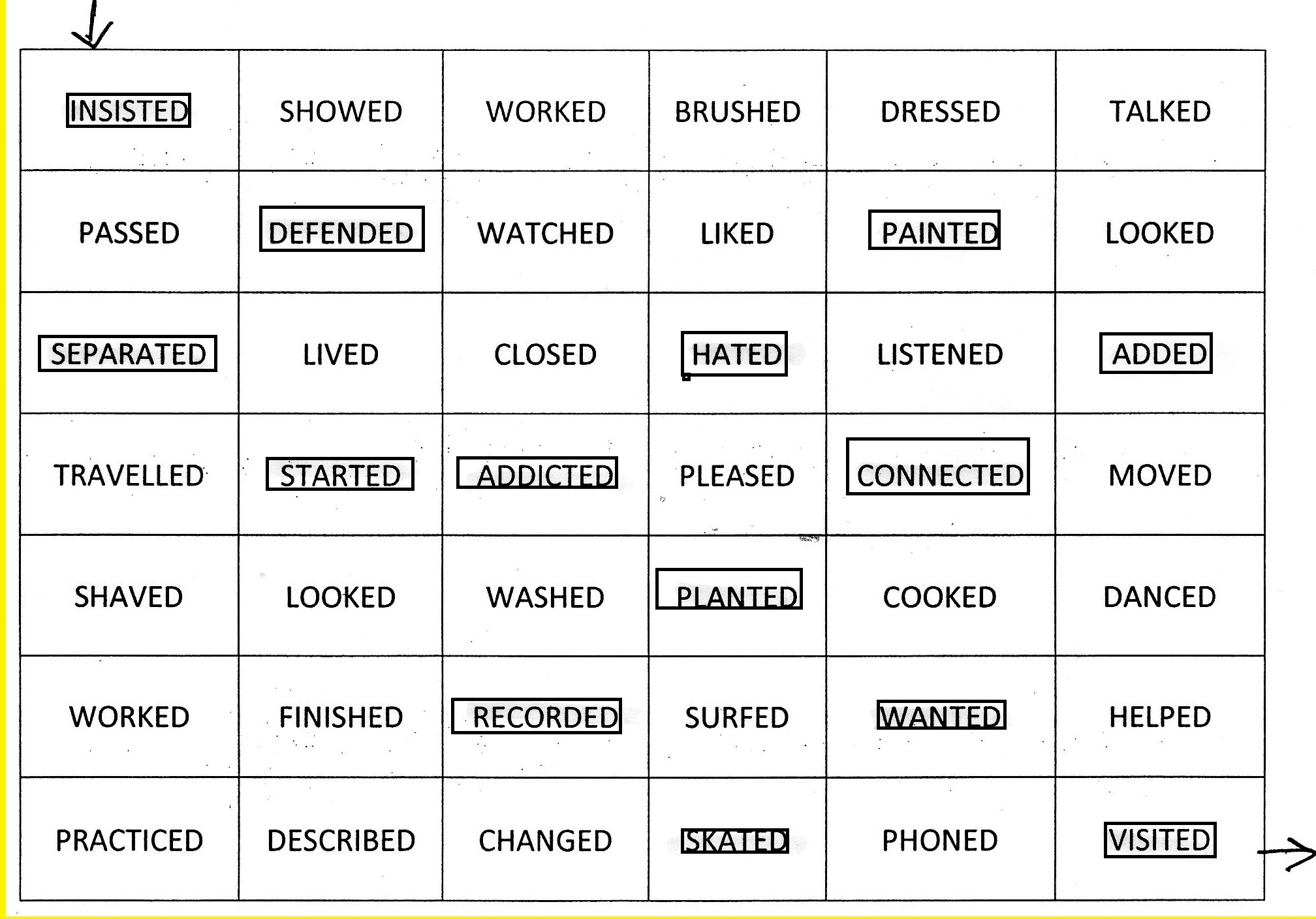 Phonetic Maze Ed Ending