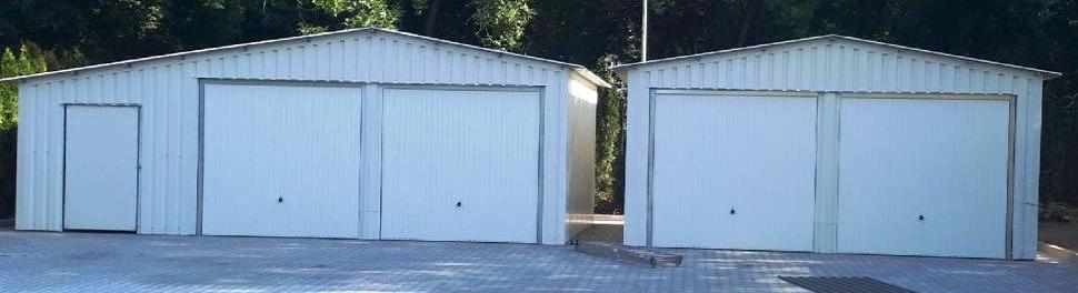 Konstrukcja stalowa garaży