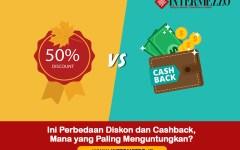 perbedaan diskon dan cashback