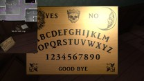 42. Our final hidden compartment is on the second floor, across from Sam's room. In it, we find a Ouija board …