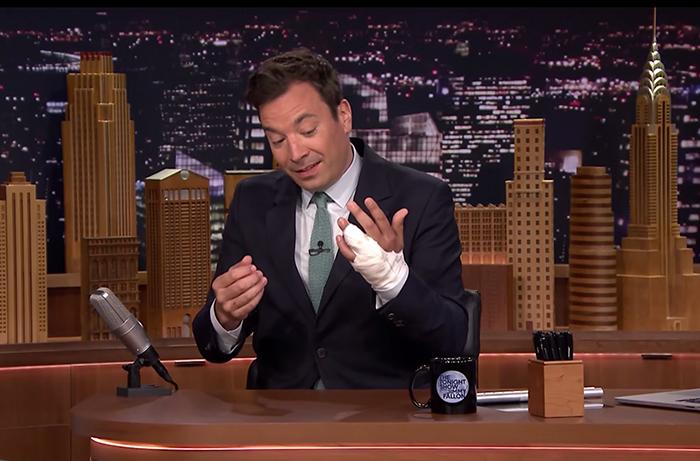 Wedding Ring Injury Sidelines TV Talk Show Host Jimmy