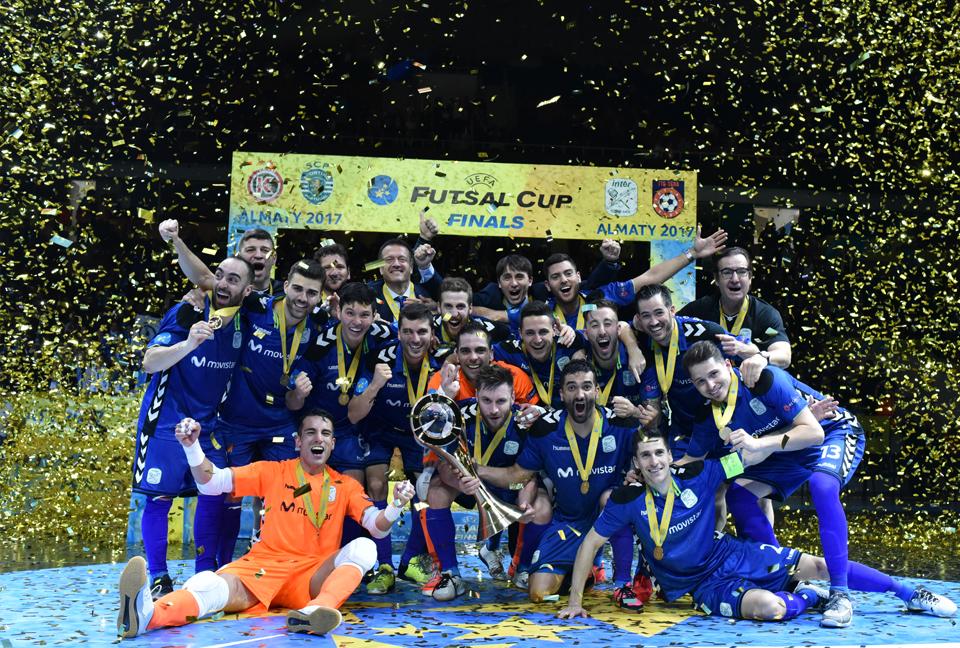Campeones de la UEFA Futsal Champions League
