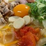 夏トマト入り野菜の旨みラーメンの作り方(レシピ付き)