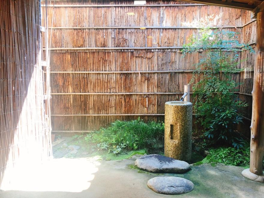 すや石川橋の庭園