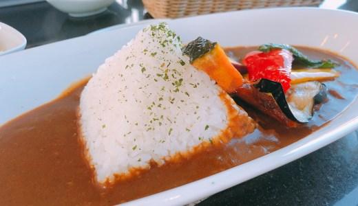 岐阜県中津川市の博石館「カフェムウ」でピラミッドカレーを食べてみた!