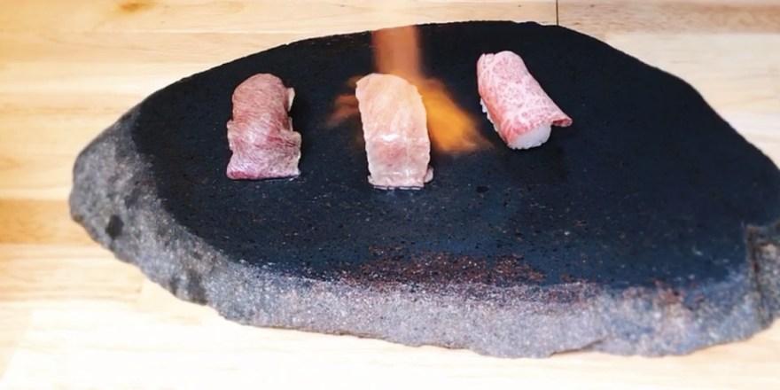 わぶりの肉寿司