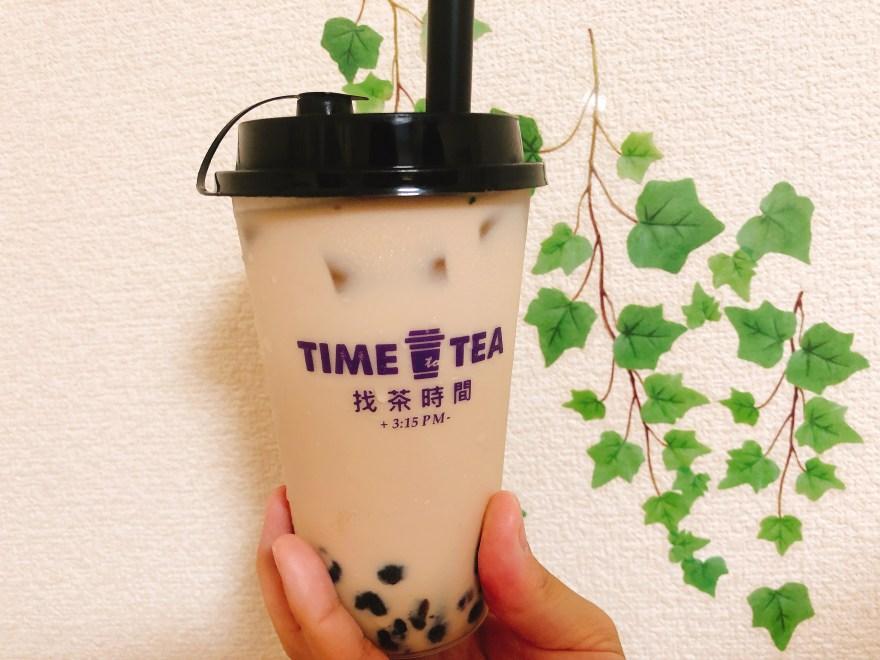 time to tea タピオカミルクティー