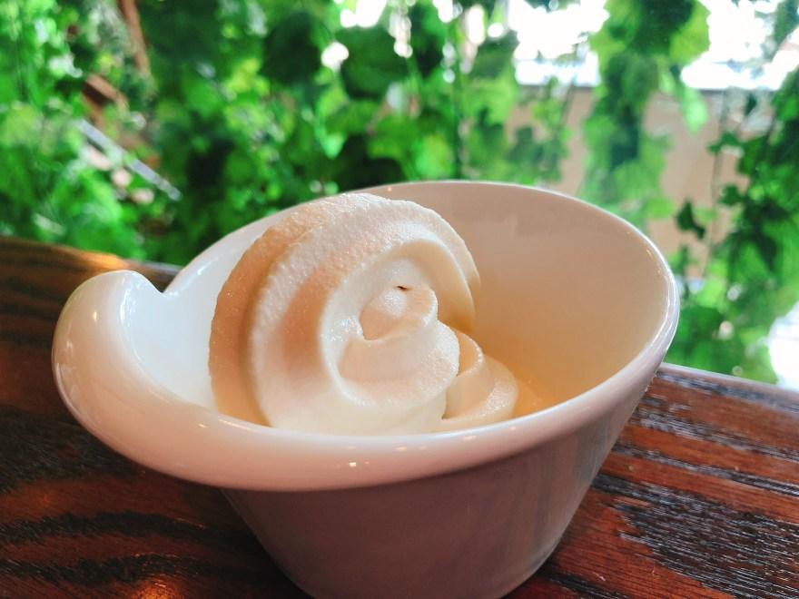 サニーオーチャード栄のソフトクリーム
