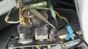 Wiring diagram for Yamaha Command Link Tachometer Kit