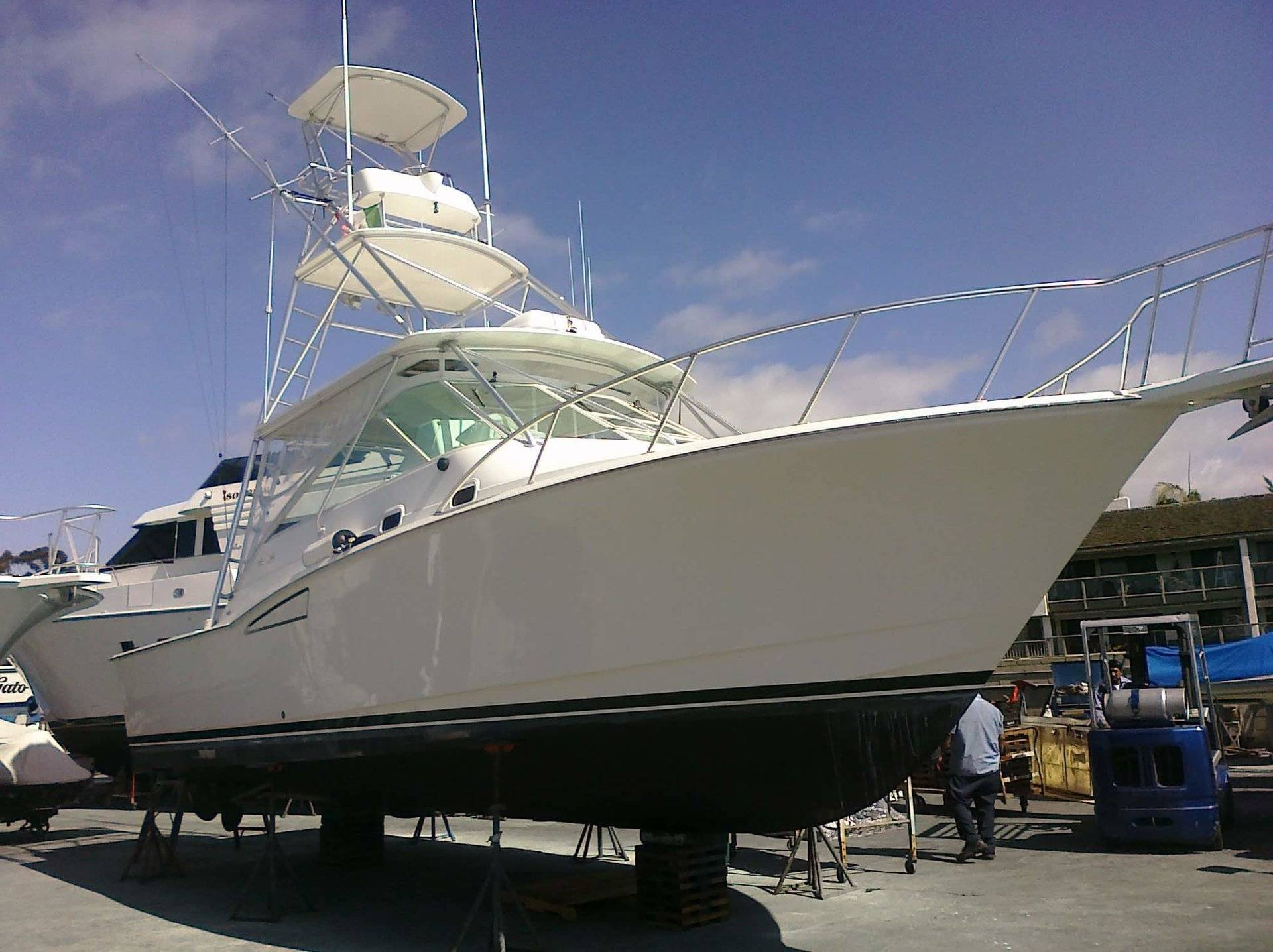30-36ft Boat, +/- Flybridge, Single Or