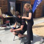 Stoelmassage op evenement