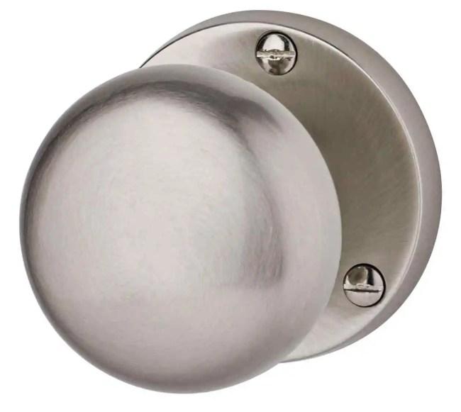 Ironmongery Charon Satin Nickel Privacy Handle Hardware Pack