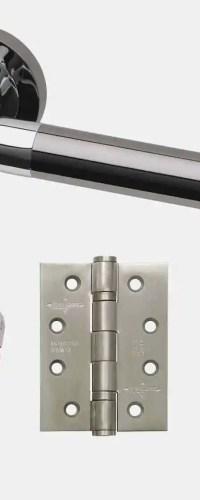 Ironmongery Vega Privacy Handle Hardware Pack