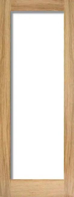 Oak Pattern 10 Glazed 1L Clear