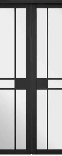 Room Divider Black Greenwich W8
