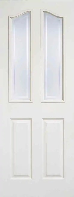 White Moulded Mayfair 2L Glazed