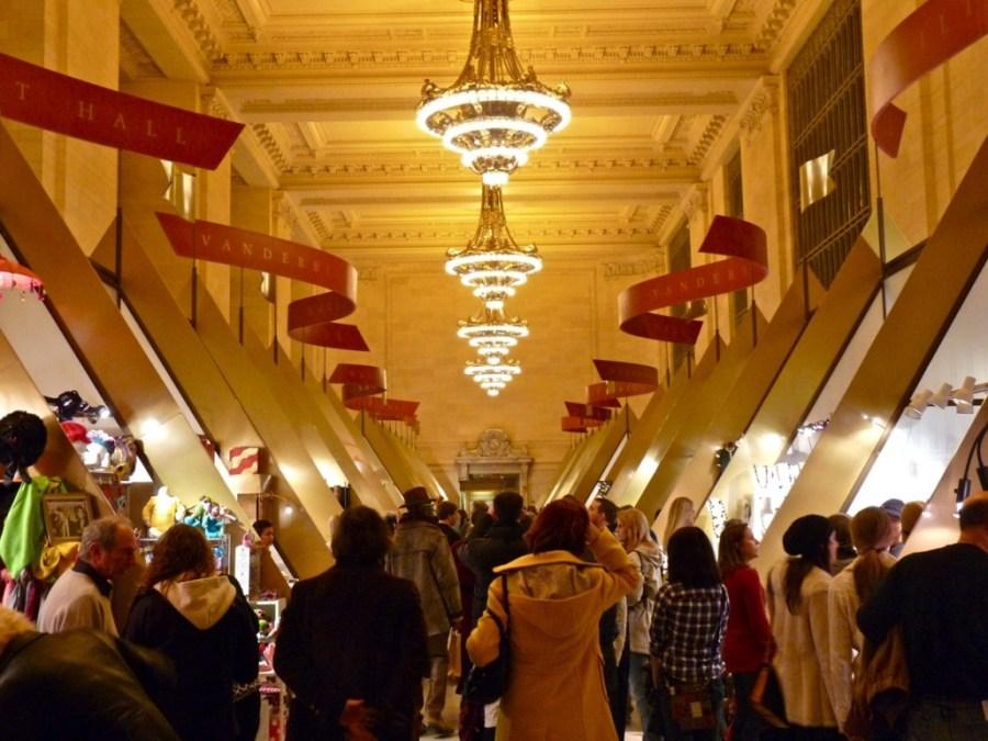 Grand Central Terminal Holiday Fair – Internal Fire Glass