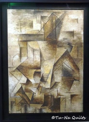 Le guitariste by Picasso