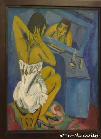 La Toilette (Femme au miroir) by Spiegel