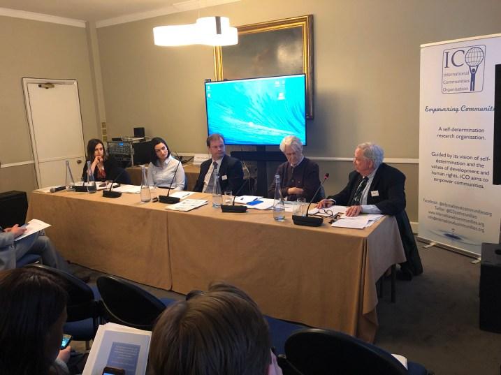 Panel I Socio-Legal approaches toward Self-determination