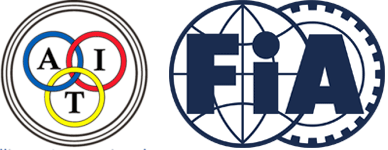 AIT and FIA logos