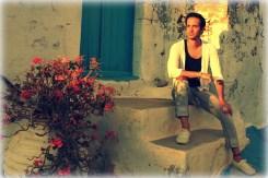 Sunset on the Greek island of Milos