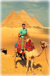 At The Great Pyramid of Giza