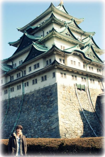 Visiting the Nagoya Castle in Nagoya, Japan
