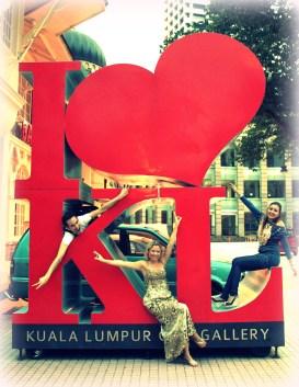 Loving Kuala Lumpur with my crew