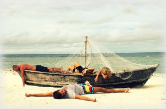 Shipwrecked :) with my best friends in the Maldives