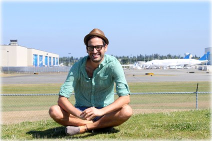 The airline geek mecca, the Boeing Everett Factory, in Everett, Washington