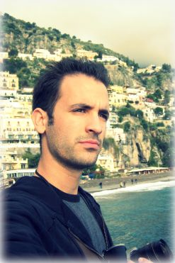 In Positano on the Amafi Coast in Italy