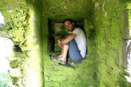 I love exploring old castles!