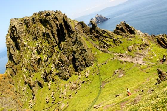 The beautiful peak of Skellig Michael