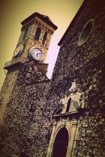 """The old church on top of the hill of Le """"Suquet"""""""