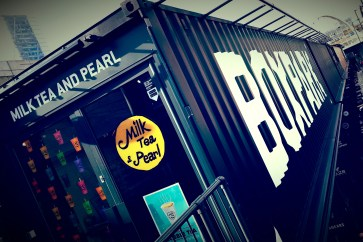 A highlight of our stroll was visiting BOXPARK. Open since 2011, this pop-up mall made from refurbished shipping containers is worth a visit when in Shoreditch