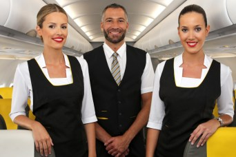 Vueling's new service uniforms