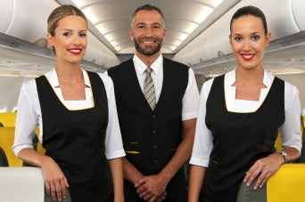 Vueling's new service uniforms
